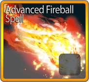 Advanced Fireball Spell