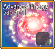 Advanced Energy Sap Spell*