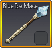 Blue Ice Mace