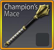 Champions Mace