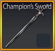 Champions Sword