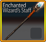 Enchanted Wizard's Staff