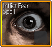 Inflict Fear Spell
