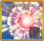 Major Energy Sap Spell