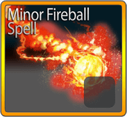 Minor Fireball Spell*