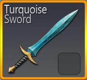 Turquoise Sword