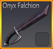 Onyx Falchion