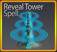 Reveal Tower Spell